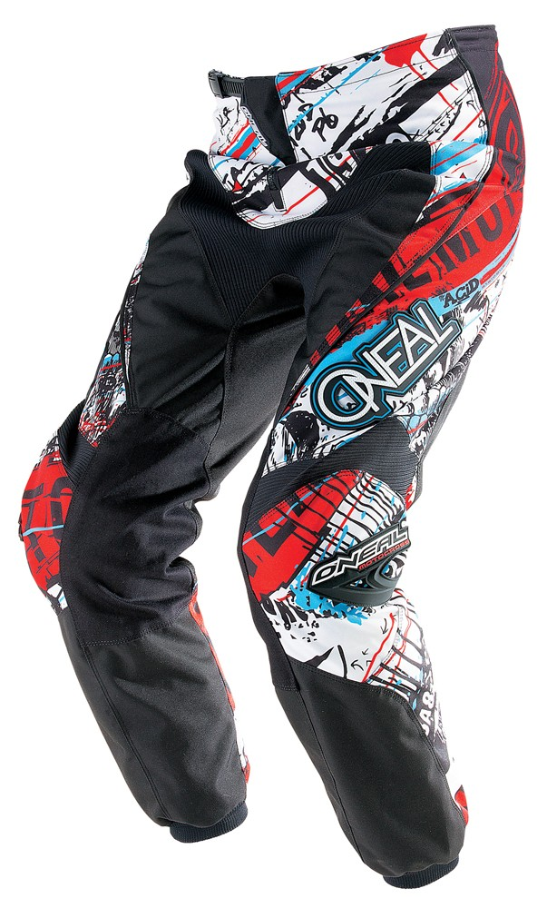 O'Neal Youth Element Acid Pant Blue/Red