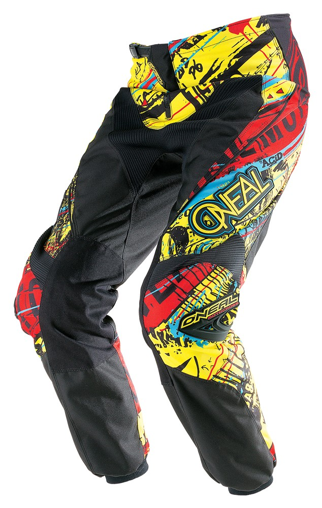 O'Neal Element Acid Pant Yellow/Red