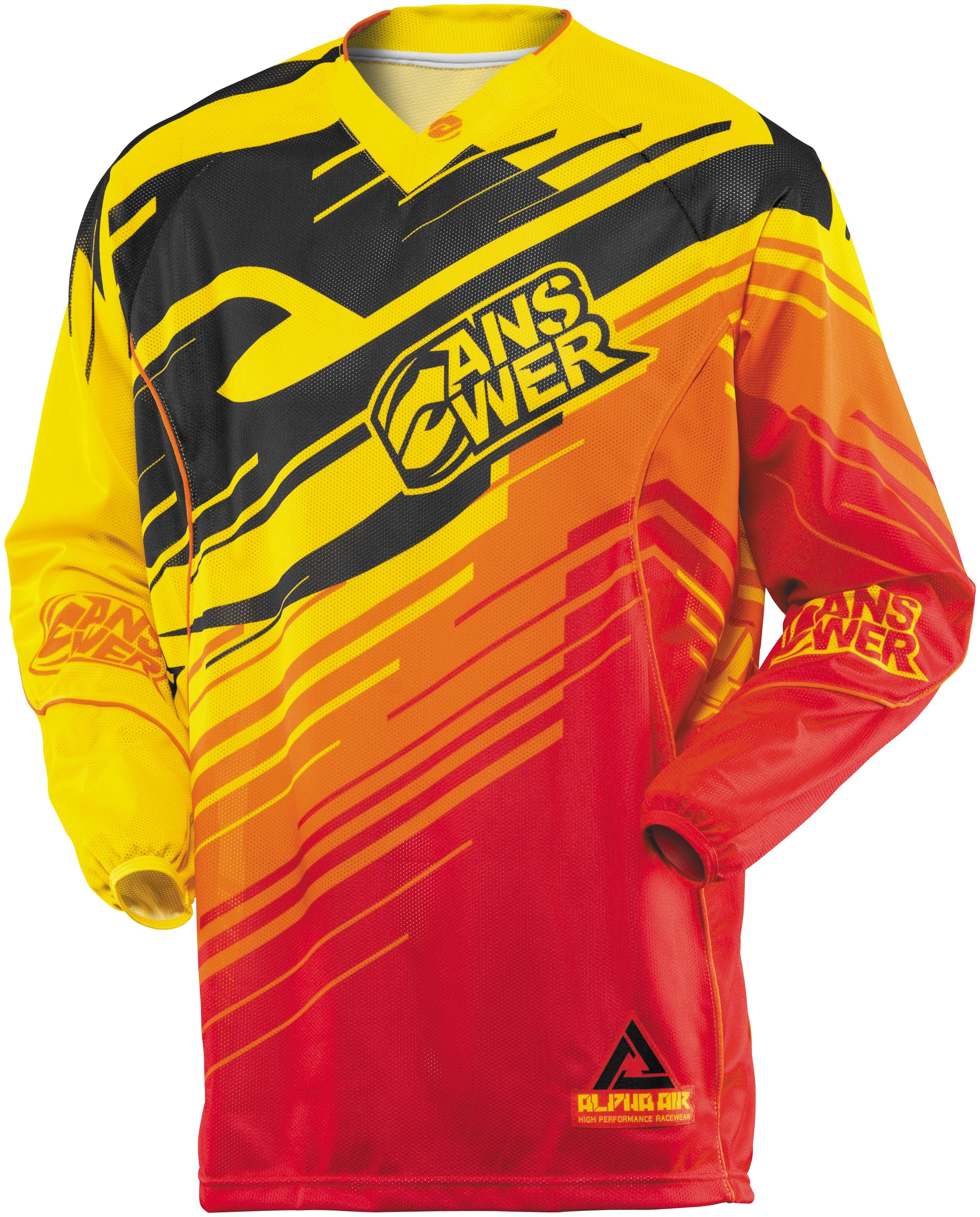 Answer Alpha Air Jersey - Yellow/Red