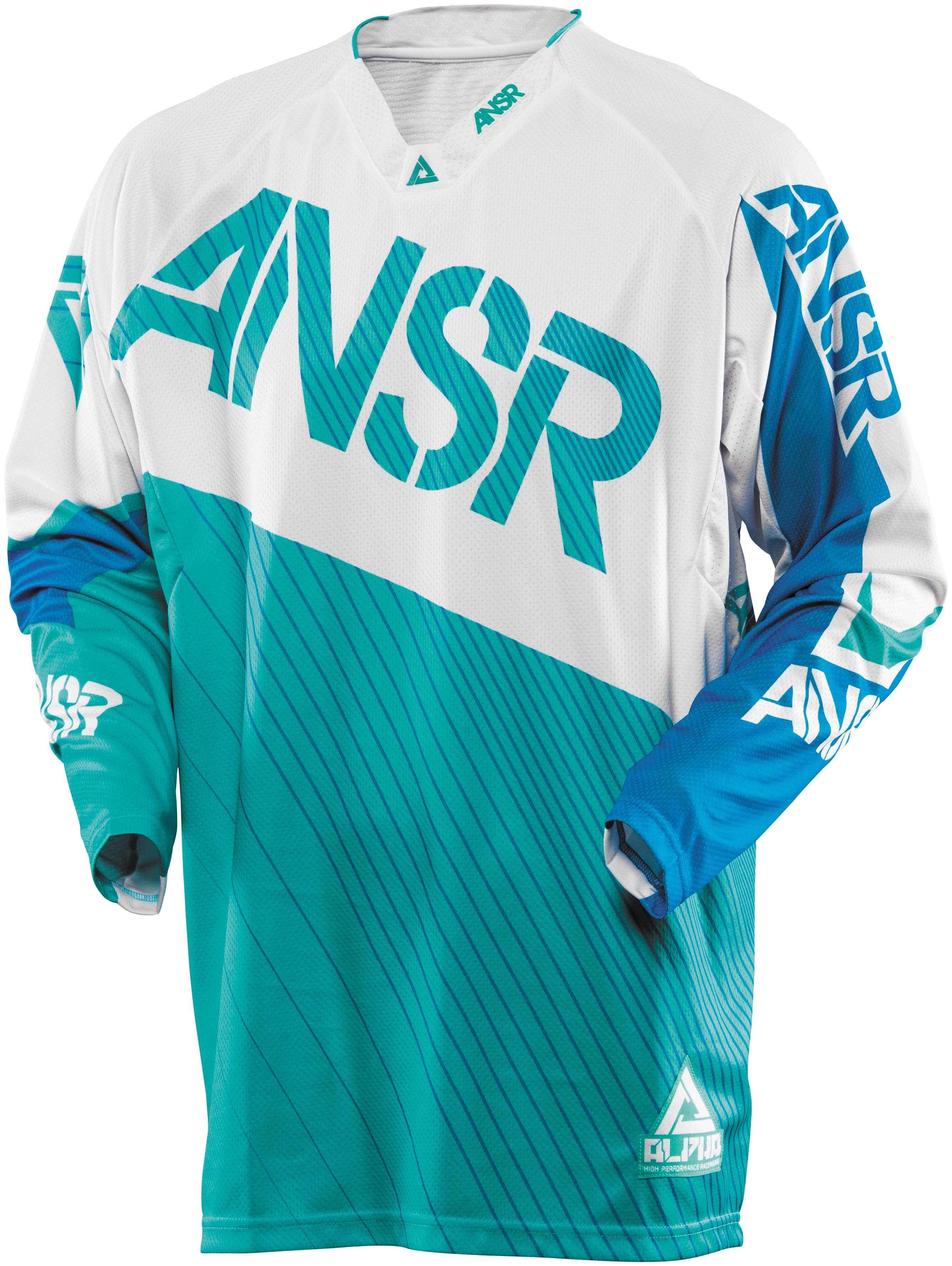 Answer Alpha Jersey Adult - White/Blue/Green