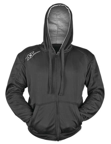 Speed and Strength Go for Broke Armored Hoody_Black