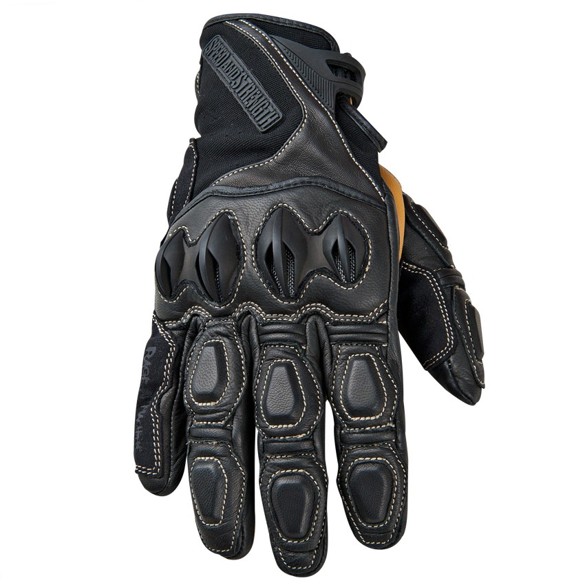 Speed And Strength Rage With The Machine Leather/Textile Gloves – Black