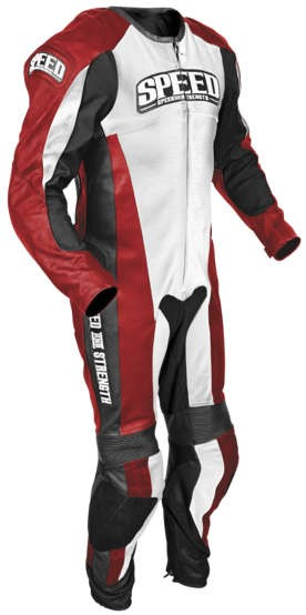Speed and Strength Triple Crown One Piece Race Suit _Red