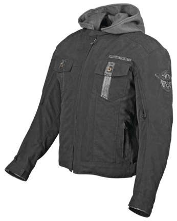 Speed and Strength Stars and Stripes Textile Jacket_Black