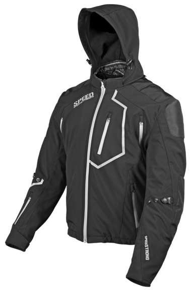 Speed and Strength Speed Strong Textile Jacket_Black