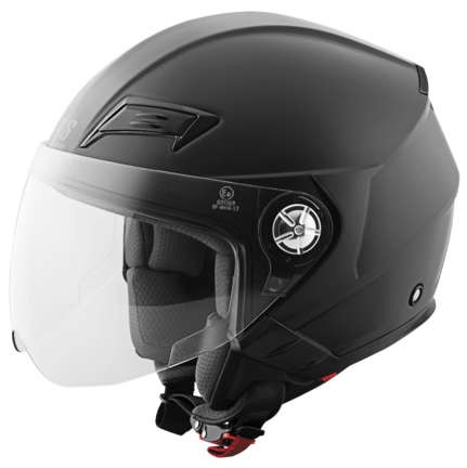 Speed and Strength SS650 Solid Speed Helmet_Matte Black