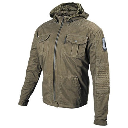 Speed and Strength Dogs of War Textile Jacket_Olive