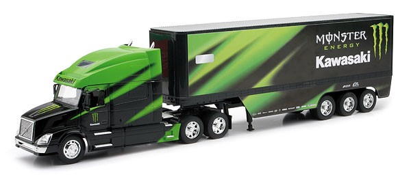 NewRay-Kawasaki Monster Energy Race Team Truck