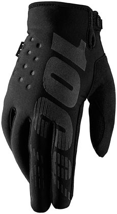 100% - Brisker Cold Weather Glove Black