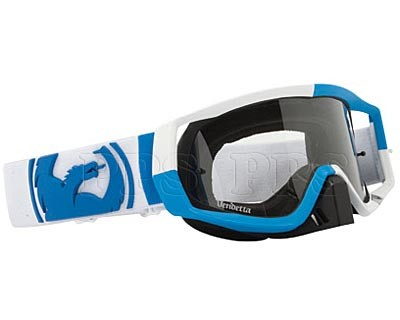 Dragon-VENDETTA J BLOCK Blue-White Goggle