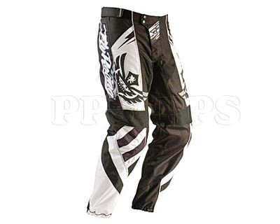 Fly-2011 F-16 Pant-blk/wht