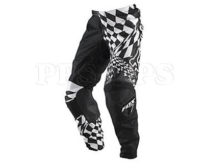 Fox-2011 180 Checked Out Pant-white / black