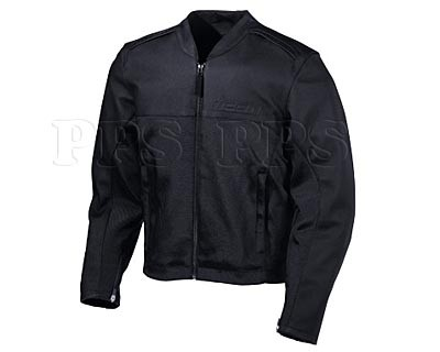ICON-Accelerant Stealth Leather Jacket