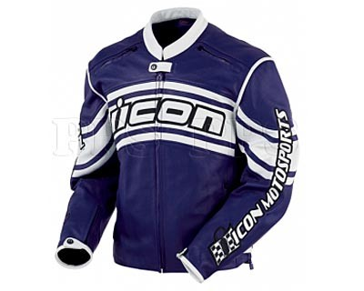 ICON-Daytona Leather Jacket_blu