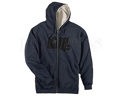 ICON-High Density Zip Hoodie_navy
