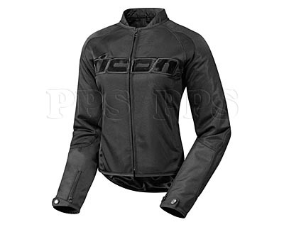 ICON-Womens Hooligan 2 Stealth Textile Jacket