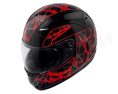 KALI-Nira Stripes Helmet_blk/red