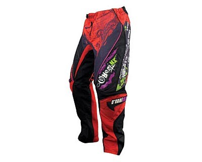 O'Neal-Mayhem Pants-blk/red