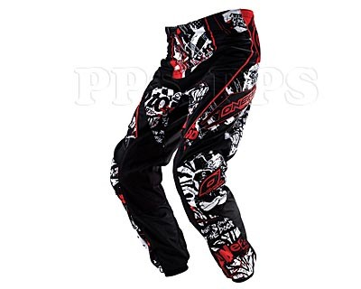 ONeal-ELEMENT Switchblade Pant_White/Red