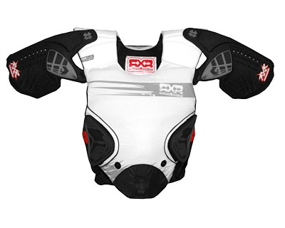 RXR-Chest Protector-Full wht