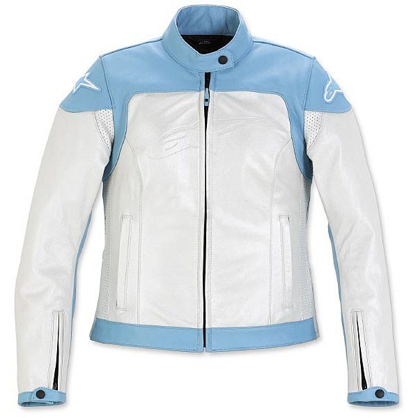 alpinestars-stella ice leather jacket