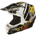 Fly Racing F2 Carbon Rockstar Helmet Rockstar Yellow/Black