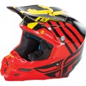Fly Racing F2 Carbon MIPS Zoom Helmet Red/Black/Yellow