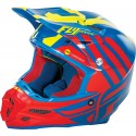 Fly Racing F2 Carbon MIPS Zoom Helmet Blue/Red/Hi-Vis