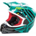Fly Racing F2 Carbon MIPS Zoom Helmet Teal/Black/White