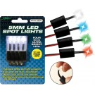 Street FX 5mm Led Spot Lights 4/Pk