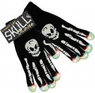 Street FX Light Up Skull Gloves