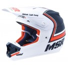 MSR MAV3 Legend 71 Helmet_White/Navy/Orange