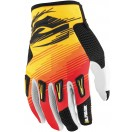 Answer Alpha Air Gloves - Yellow/Red