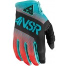 Answer Alpha Gloves - Black/Red/Green