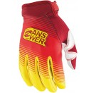 Answer Ion Gloves - Red/Yellow