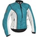 First Gear Contour Mesh Women's Jacket - Blue
