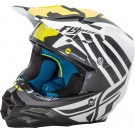 Fly Racing F2 Carbon MIPS Zoom Helmet Matte White/Black/Hi-Vis