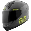 Speed and Strength - SS1400 Twist Fate Full Face HelmetGlossy Black / Hi Viz