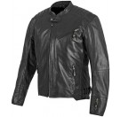 Speed and Strength - Rust/Redemption Leather Jacket Black