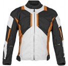Speed and Strength - Chain Reaction Textile Jacket_Black / Orange