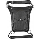 Speed and Strength - Speed Society Leather Hip Bag Black