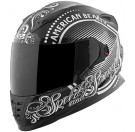 Speed and Strength - SS1600 American Beauty Full Face Helmet_Black / Silver
