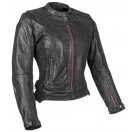 Speed and Strength Women's Black Widow Leather Jacket_Black