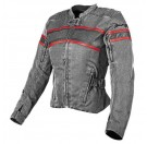 Speed and Strength Women's American Beauty Textile/Leather Jacket _Vintage Black