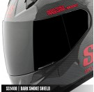 Speed and Strength - SS1400 Shield_Dark Smoke