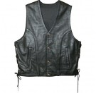 Power Trip Power Glide Leather Vest
