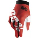 100% - ITrack Gloves_Fire Red