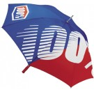 100% - Umbrella_Premium Blue/Red