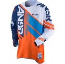 Answer Elite Jersey_Orange/Cyan/White