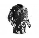 FOX-HC Checked Out Jersey_wht/blk
